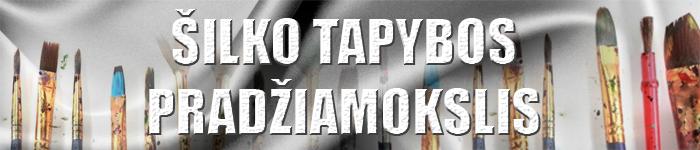 ŠILKO-TAPYBOS-PRADŽIAMOKSLIS